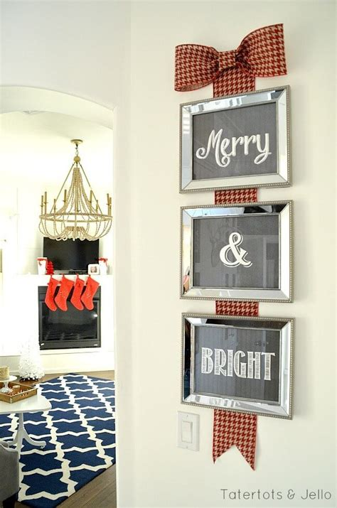 christmas wall decorating ideas 35 best christmas wall decor ideas and designs for 2017