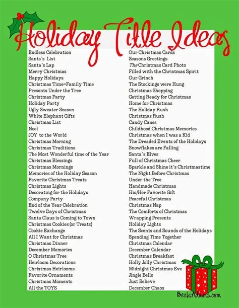 christmas themes list list of christmas party themes fun for christmas