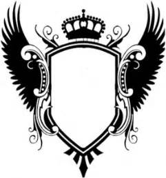 Crest Designs Outline by Blank Family Crest Clipart Best