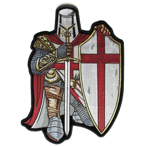 Patchwork Patches - crusader large patch