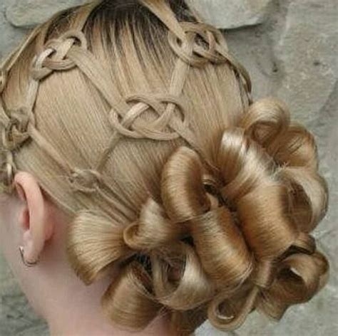 Celtic Hairstyles by Celtic Knot Hairstyles Www Imgkid The Image Kid