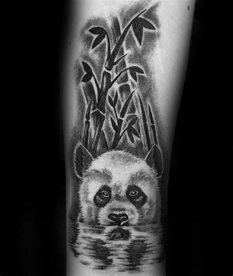 panda wolf tattoo 100 oso panda dise 241 os de tatuajes para los hombres ideas