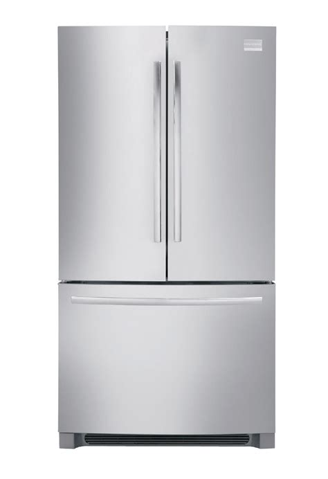 door counter depth stainless steel refrigerator frigidaire fphg2399pf professional 22 6 cu ft
