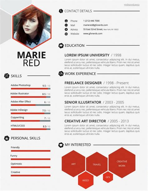 creative resume templates for web designers 50 creative resume design sles that will make you