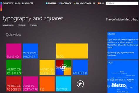Microsoft Metro Design Modern Ui Style Design By Microsoft Designmodo