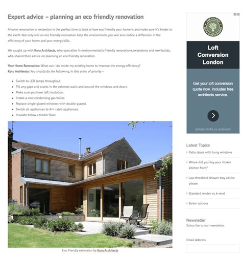house renovation grants uk eco renovation home design