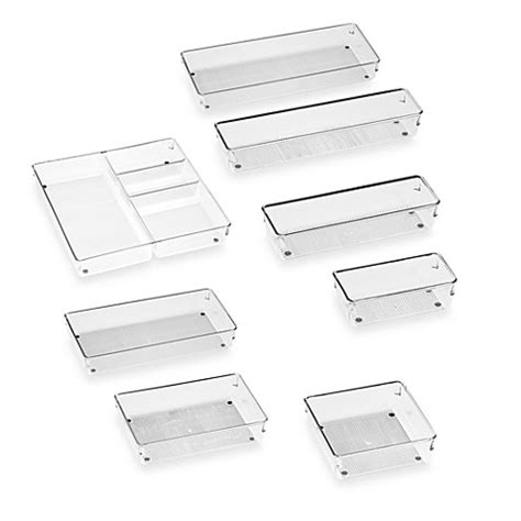Ikea New Products Interdesign 174 Linus Acrylic Drawer Organizers Bed Bath