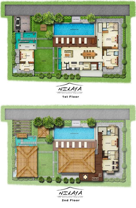 bali style house floor plans bali villa style house plans house design ideas