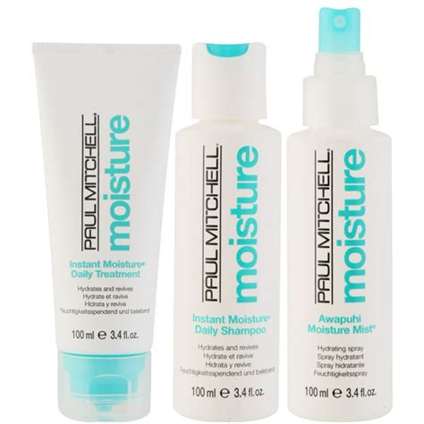 Paul Mitchell Home | paul mitchell take home moisture kit 3 products free
