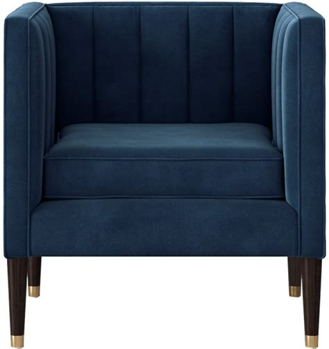 soriano square arm channel tufted chair project 62 soriano square arm channel tufted chair project 62