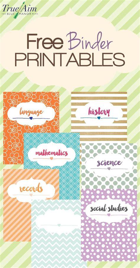 printable organization binder 8 homeschool organization tips for a new school year
