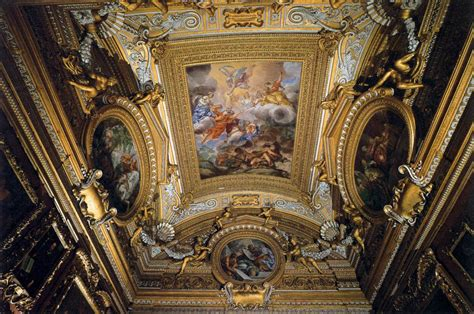 Fresco Ceiling by Ceiling Fresco In The Of Saturn 1663 1665 Pietro