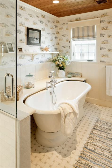 decorating around bathtub tile around freestanding tub bathroom beach style with