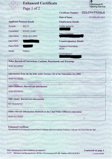 Government Criminal Record Dbs Checks Information On The Disclosure And Barring Html Autos Weblog