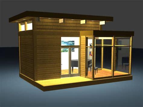 eco friendly modern studio kit  lindal cedar homes