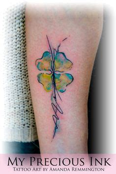 watercolor tattoos reno 1000 ideas about luck on tattoos