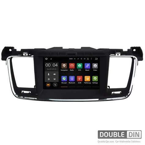 android unit navigation multimedia unit with android for peugeot 508 dd 5637