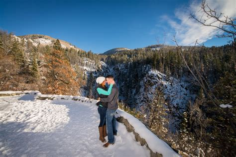 Steamboat Springs, CO Proposal Photography at Fish Creek