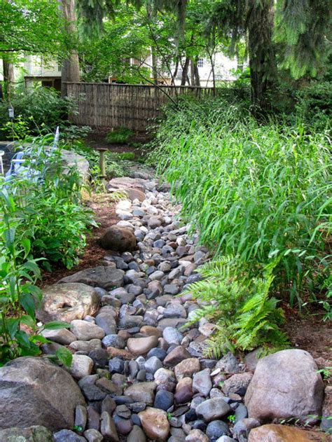 dry river bed ideas pictures remodel  decor