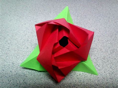 Origami Flower Cube - origami cube driverlayer search engine