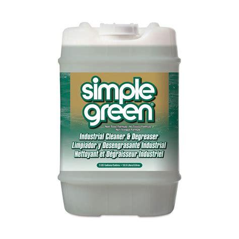 simple green  gal sassafras cleaner  degreaser   home depot