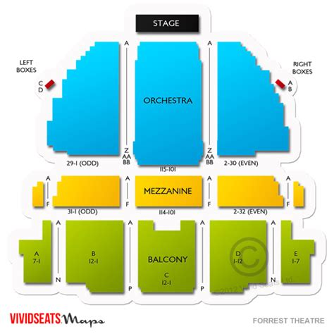 House Layout Program forrest theatre tickets forrest theatre seating chart