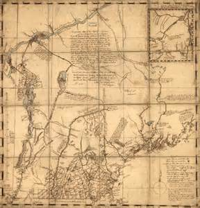 map of the colony of a map of new hshire colony