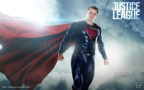 justice league film henry cavill justice league superman henry cavill by bryanzap on deviantart
