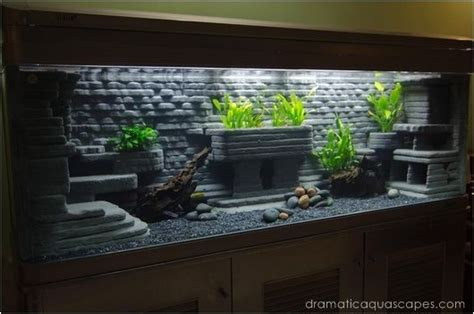 Aquarium Design Homemade | dramatic aquascapes diy aquarium http