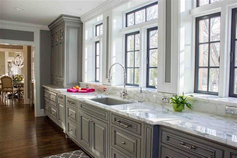 raised panel kitchen cabinets gray raised panel kitchen cabinets design ideas
