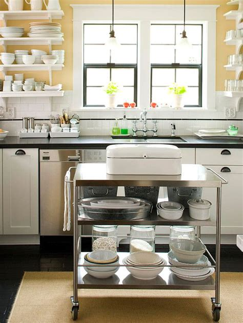 extra kitchen storage small space kitchen island ideas rolling kitchen cart