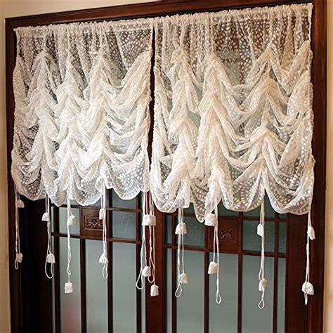 sheer balloon curtains rustic lace curtains adjustable balloon sheer curtains