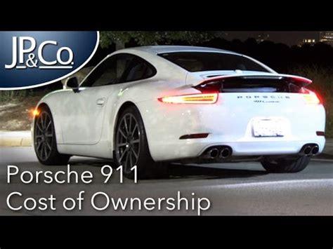 cost of porsche 911 porsche 911 cost of ownership