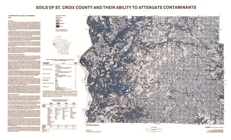 St Croix County Records Wisconsin Geological History Survey 187 Soils Of St Croix County And Their