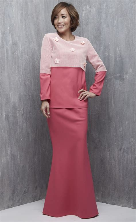 Kebaya Pink Cape Premium Ab 17 best ideas about baju kurung on kebaya contoh model baju batik and kebaya modern