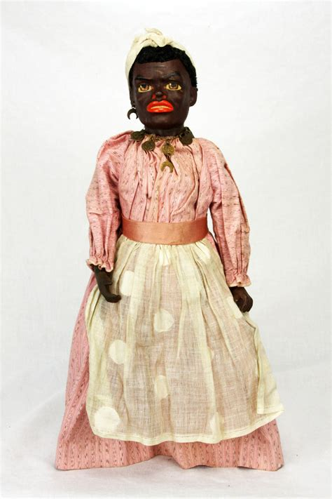 Paper Mache Doll - antique german paper mache black character doll ca1900 ebay