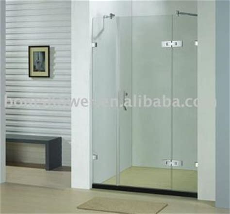 Two Panel Sliding Shower Bath Screen two fixed glass panels shower screen with one sliding door