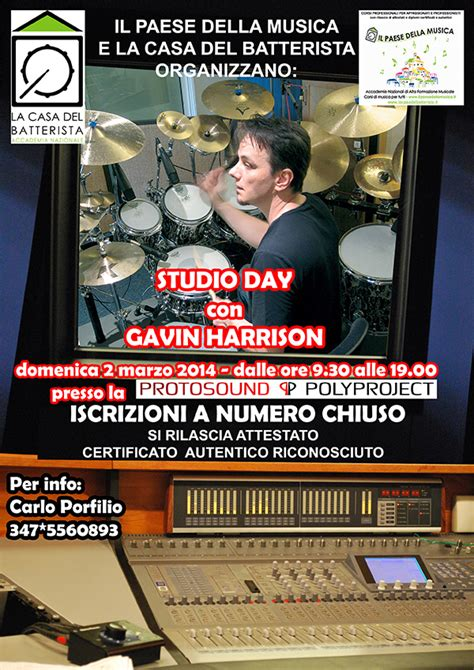 la casa batterista la casa batterista 187 studio day