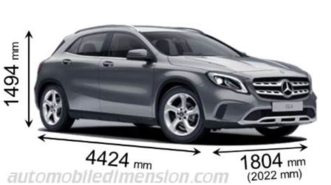 mercedes a class dimensions 2017 mercedes gla 2017 dimensions boot space and interior