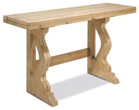 tavolo consol tavoli in pino tavolo console l130 allungabile