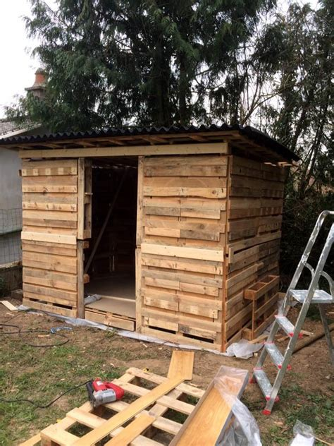 Wood Pallet Garden Shed amazing constructions with pallets 101 pallet ideas