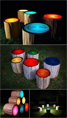 glow in the painted logs 1000 images about painted trees on painted
