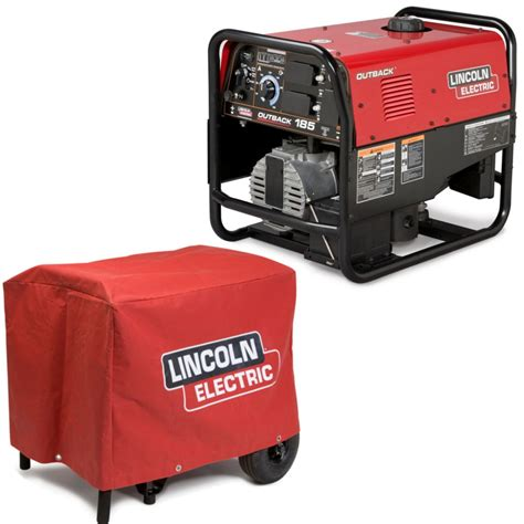 lincoln outback 185 engine welder generator w cover