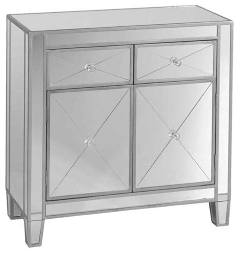 Mirrored Dining Room Tables contemporary mirrored cabinet accent chests and cabinets
