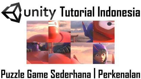 membuat game puzzle unity 3d tutorial indonesia membuat puzzle game