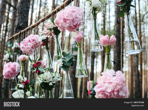 Wedding Concept by Wedding Flowers Decoration Arch In The Forest The Idea Of