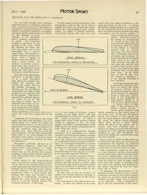 monoplanes and biplanes their design construction and operation the application of aerodynamic theory with a complete description and comparison of the notable types classic reprint books monoplane or biplane motor sport magazine archive