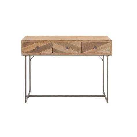 light wood sofa table walker edison furniture company angle iron barnwood