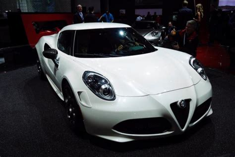 Alfa Romeo York Worth The Wait Gorgeous Alfa Romeo 4c Brings The Italian