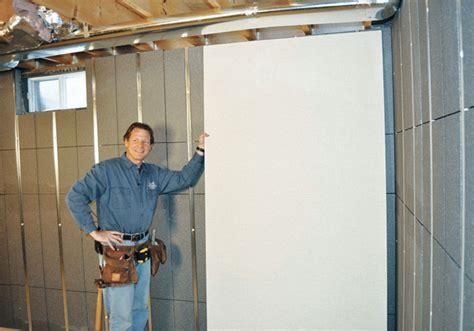 Basement To Beautiful? Insulated Wall Panels & Studs